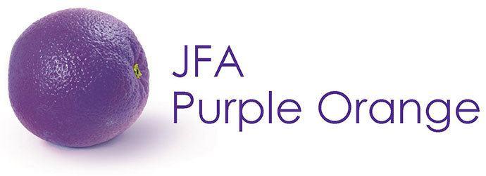 JFA Purple Orange Logo