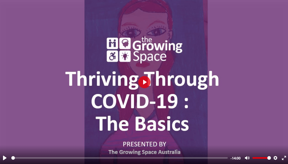 Thriving Through Covid 19 eLearning